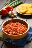 Κολομβιανή σάλτσα Hogao Στοκ εικόνα με δικαίωμα ελεύθερης χρήσης