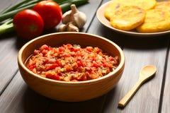 Κολομβιανή σάλτσα Hogao Στοκ φωτογραφίες με δικαίωμα ελεύθερης χρήσης