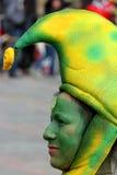 Κολομβιανός χορευτής σε μια παρέλαση της Μπογκοτά στοκ φωτογραφία με δικαίωμα ελεύθερης χρήσης