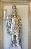 """Κολοσσιαίο άγαλμα του Άρη: """"Pyrrhus† Στοκ Εικόνα"""