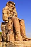 Κολοσσοί Memnon στην Αίγυπτο Στοκ εικόνα με δικαίωμα ελεύθερης χρήσης