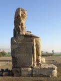 Κολοσσοί Memnon Στοκ φωτογραφίες με δικαίωμα ελεύθερης χρήσης