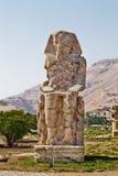 Κολοσσοί Memnon Στοκ εικόνα με δικαίωμα ελεύθερης χρήσης