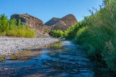 Κολπίσκος του Rio Grande στοκ εικόνες με δικαίωμα ελεύθερης χρήσης