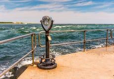 Κολπίσκος Barnegat, νησί Λονγκ Μπιτς, NJ, ΗΠΑ Στοκ Εικόνες
