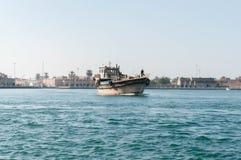 κολπίσκος dhow Ντουμπάι Στοκ Εικόνες