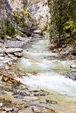 Κολπίσκος Johnston, εθνικό πάρκο Banff, Αλμπέρτα Στοκ Φωτογραφίες