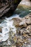 Κολπίσκος Johnston, εθνικό πάρκο Banff, Αλμπέρτα Στοκ φωτογραφία με δικαίωμα ελεύθερης χρήσης