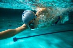 κολυμβητές Στοκ εικόνα με δικαίωμα ελεύθερης χρήσης
