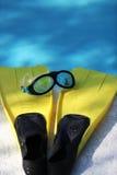 Κολυμπήστε τα πτερύγια 2 Στοκ φωτογραφίες με δικαίωμα ελεύθερης χρήσης