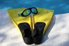 Κολυμπήστε τα πτερύγια 3 Στοκ Φωτογραφίες