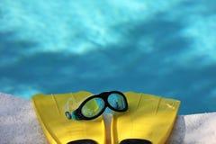 Κολυμπήστε τα πτερύγια 4 Στοκ εικόνα με δικαίωμα ελεύθερης χρήσης