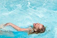 Κολυμπήστε το χρόνο Στοκ Εικόνα