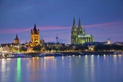 Κολωνία, Γερμανία. Στοκ Εικόνες