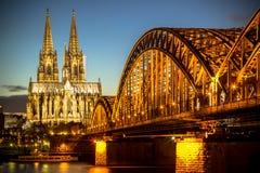 Κολωνία, Γερμανία στοκ εικόνες με δικαίωμα ελεύθερης χρήσης