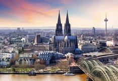 Κολωνία Γερμανία στοκ εικόνα με δικαίωμα ελεύθερης χρήσης