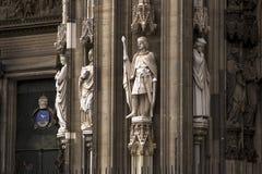 Κολωνία Ρωμαίος - καθολικός γοτθικός καθεδρικός ναός Στοκ εικόνα με δικαίωμα ελεύθερης χρήσης