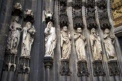 Κολωνία Ρωμαίος - καθολικός γοτθικός καθεδρικός ναός Στοκ Εικόνα