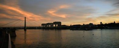 Κολωνία σύγχρονη Στοκ εικόνα με δικαίωμα ελεύθερης χρήσης