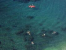 Κολύμβηση ανθρώπων Στοκ φωτογραφία με δικαίωμα ελεύθερης χρήσης