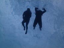 Κολύμβηση με αναπνευστήρα στον ωκεανό Στοκ φωτογραφία με δικαίωμα ελεύθερης χρήσης