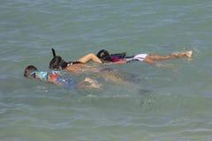 Κολύμβηση με αναπνευστήρα Στοκ Εικόνα