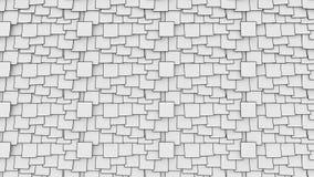 Κολλώδεις σημειώσεις κινούμενων σχεδίων για τον πίνακα Έννοιες εργασίας ή υπομνημάτων γραφείων 4K ο άνευ ραφής βρόχος μετακινείτα απεικόνιση αποθεμάτων