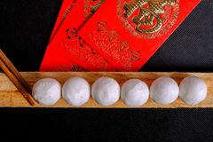 Κολλώδεις σφαίρες ρυζιού παραδοσιακού κινέζικου Στοκ φωτογραφίες με δικαίωμα ελεύθερης χρήσης