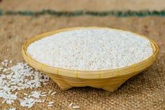 Κολλώδες ρύζι στο καλάθι μπαμπού Στοκ φωτογραφίες με δικαίωμα ελεύθερης χρήσης