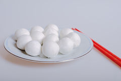 κολλώδες ρύζι σφαιρών Στοκ Φωτογραφίες