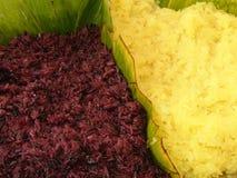 Κολλώδες ρύζι χρώματος Στοκ φωτογραφία με δικαίωμα ελεύθερης χρήσης
