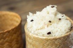 Κολλώδες ρύζι Στοκ Εικόνες