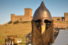 Κράνος ιππότη στοκ φωτογραφία με δικαίωμα ελεύθερης χρήσης