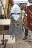 Κράνος ιππότη Στοκ εικόνες με δικαίωμα ελεύθερης χρήσης
