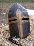 Κράνος σταυροφόρων Στοκ Εικόνες