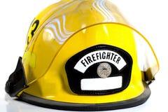 κράνος s πυροσβεστών Στοκ φωτογραφία με δικαίωμα ελεύθερης χρήσης