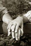 κράτημα χεριών Στοκ Εικόνα
