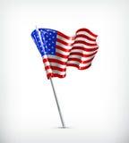 κράτη σημαίας που ενώνονται διανυσματική απεικόνιση