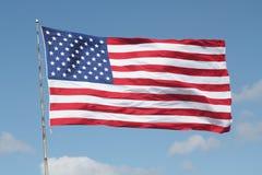 κράτη σημαίας που ενώνοντα στοκ φωτογραφία με δικαίωμα ελεύθερης χρήσης