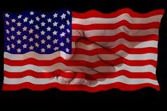κράτη σημαίας που ενώνοντα Στοκ Εικόνες