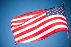 κράτη σημαίας της Αμερικής στοκ εικόνα
