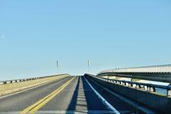 Κράτος ΗΠΑ της Μέρυλαντ assateague δύο γέφυρες τύπων Στοκ φωτογραφία με δικαίωμα ελεύθερης χρήσης