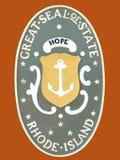 κράτος σφραγίδων νησιών rhode Στοκ φωτογραφία με δικαίωμα ελεύθερης χρήσης