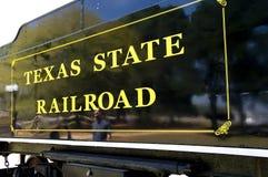 κράτος Τέξας σιδηροδρόμο&up Στοκ Εικόνα