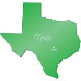 κράτος Τέξας διανυσματική απεικόνιση