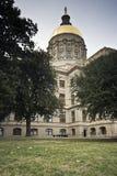 κράτος της Γεωργίας capitol τη&sigm Στοκ εικόνες με δικαίωμα ελεύθερης χρήσης
