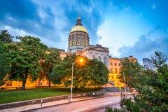 κράτος της Γεωργίας capitol Στοκ Εικόνες