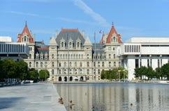 Κράτος της Νέας Υόρκης Capitol, Άλμπανυ, Νέα Υόρκη, ΗΠΑ Στοκ εικόνα με δικαίωμα ελεύθερης χρήσης