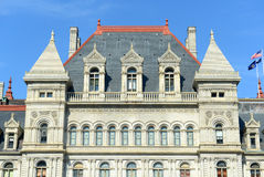 Κράτος της Νέας Υόρκης Capitol, Άλμπανυ, Νέα Υόρκη, ΗΠΑ Στοκ φωτογραφία με δικαίωμα ελεύθερης χρήσης