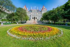 Κράτος της Νέας Υόρκης Capitol Στοκ Φωτογραφίες